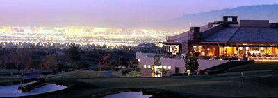 Anthem Country Club with Las Vegas Lights